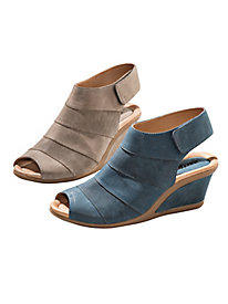 Women's Earth Leather Wedges