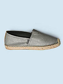 Women's Metallic Espadrilles