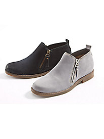 Women's Hush Puppies Double-Zip Booties