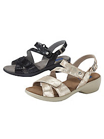 Women's Wolky Leather Sandals