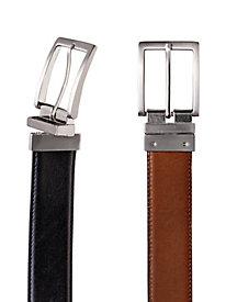 Men's 2-in-1 Leather Dress Belt by Norm Thompson