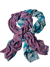 Abstract Floral Scarf...
