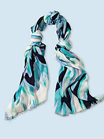 Women's Laverde Blue-Wash Scarf