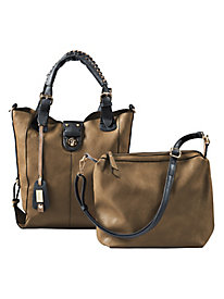 Women's 2-in1 Tote-Worthy Bag