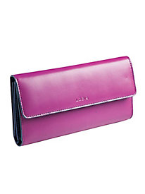 Women's Lodis Leather Clutch Wallet by Norm Thompson