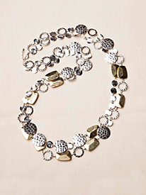 Double-Strand Bangle Necklace