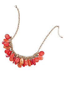 Women's Scattered Stones Necklace
