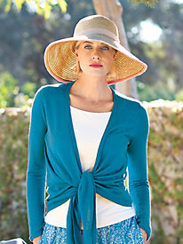 Women's Wide-Brim Packable Sun Hat