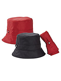 Women's Packable Portable Rain Hat