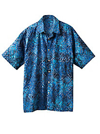 Men's Bungalow Bay Batik Shirt