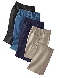 Men's Full-Elastic Casual Pants