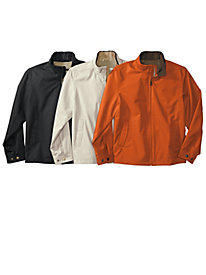 Men's Microfiber Twill Jacket