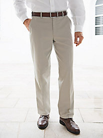Men's Neat-Nick Plain-Front Twill Pants