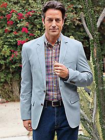 Men's Softwash Cotton Blazer by Norm Thompson