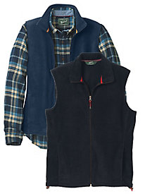 Men's Woolrich Fleece Vest
