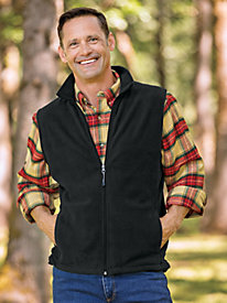 Men's Woolrich Fleece Vest