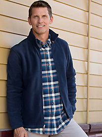 Men's Woolrich Pebble-Washed Flannel Shirt by Norm Thompson