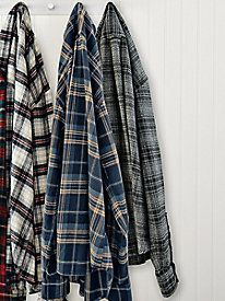 Men's Woolrich Pebble-Washed Flannel Shirt