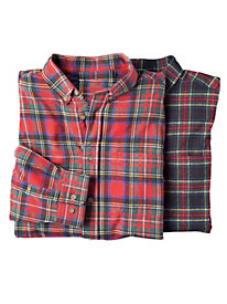 Men's Landmark Tartan Flannel Shirt