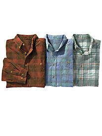 Men's Riverwash Corduroy Plaid Shirt