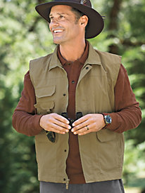 Men's 8-Pocket Cargo Vest