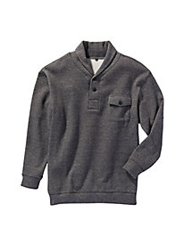 Men's Riverwash Shawl Collar Pullover by Norm Thompson