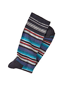Men's Fiesta-Stripe Crew Socks by Norm Thompson