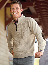 Men's Quarter-Zip Heritage Sweater