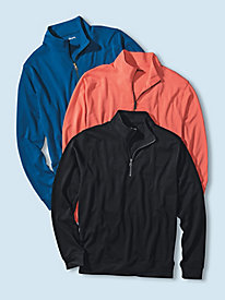 Men's Seaside Quarter-Zip Pullover