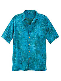 Men's Azul Batik Shirt
