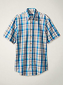Men's Uncanny No-Iron Short-Sleeved Shirt