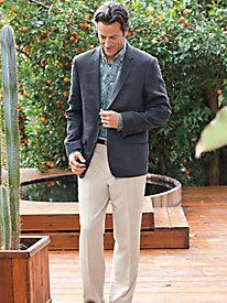 Men's Linen Herringbone Blazer by Norm Thompson