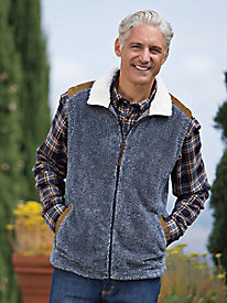 Men's Canyon Fur Vest