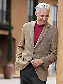 Men's Limited-edition Harris Tweed Sportcoat by Norm Thompson
