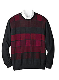 Men's Vista Rosso Crewneck Sweater