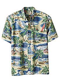 Men's Little Saint Nick Hawaiian Shirt