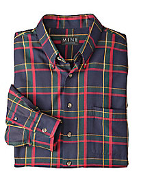Men's Holidays-and-Beyond Plaid Shirt