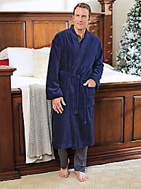 Men's Calida French Terry Robe by Norm Thompson