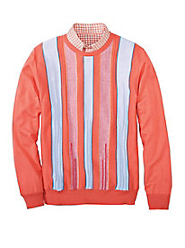 Men's Ready-For-Summer Italian Crewneck Sweater