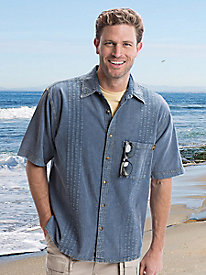 Men's Pima Cotton Traveler Shirt