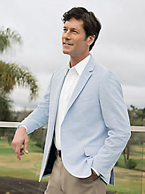 Men's Seersucker Sportcoat by Norm Thompson