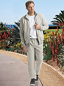 Men's At-Ease Luxury Knit Warm-Ups
