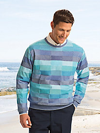 Men's Zaffiro Italian Crewneck Sweater