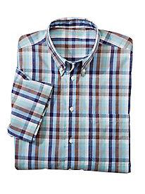 Men's Keep-Cool Cotton Check Shirt