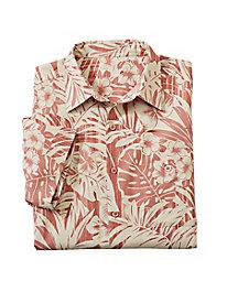 Men's Forest Silk/Cotton Shirt