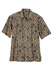 Men's Tori Richard Map Quest Shirt