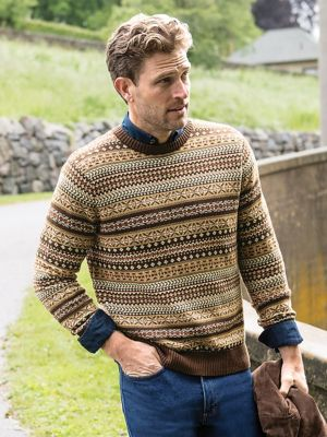 Men's Fair Isle Sweater | Norm Thompson