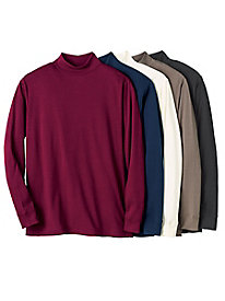 Men's Destination Knits Interlock Mockneck