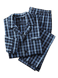 Men's Supreme Wrinkle Resistant Plaid Pajamas