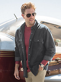Men's Woolrich Andes Fleece Shirt Jacket